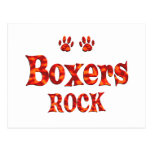 Boxers Rock Post Cards