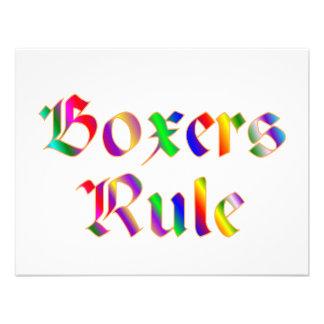Boxers Rule Custom Invite