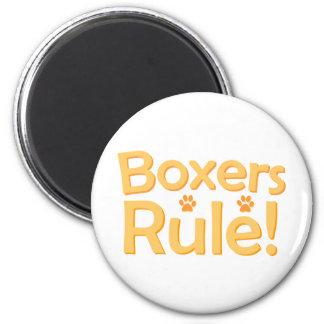 Boxers Rule! Fridge Magnet