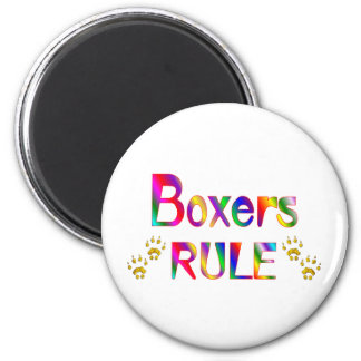 Boxers Rule Fridge Magnet