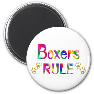 Boxers Rule Refrigerator Magnets