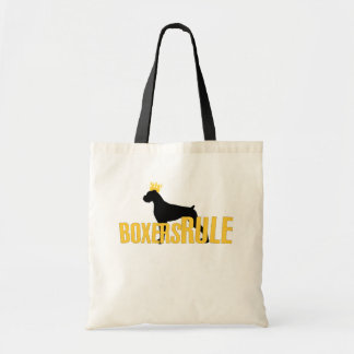 Boxers Rule Tote Bag