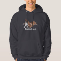 Boxers Rule Unisex Hooded Sweatshirt