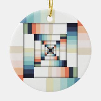 Boxes of Colors Ceramic Ornament