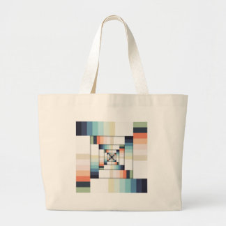 Boxes of Colors Large Tote Bag