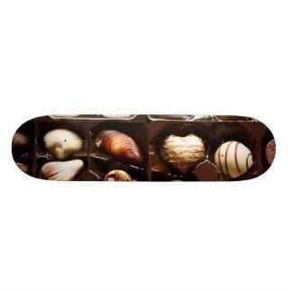 Boxes of Fancy Chocolates Custom Skate Board