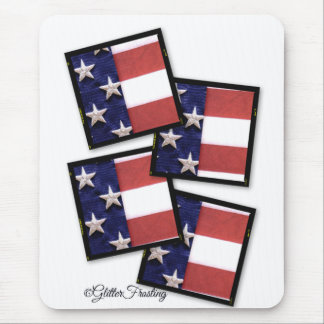 Boxes of Flags Mouse Pad