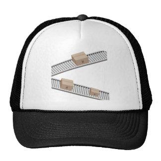 Boxes on a Conveyor Belt Trucker Hat