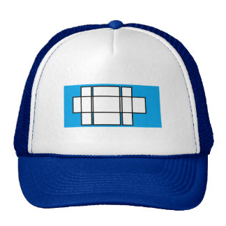 Boxes Trucker Hat