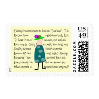 """""""Boxhead"""" Story Art gifts Postage"""