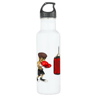 Boxing 24oz Water Bottle
