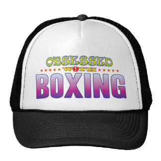 Boxing 2 Obsessed Trucker Hat