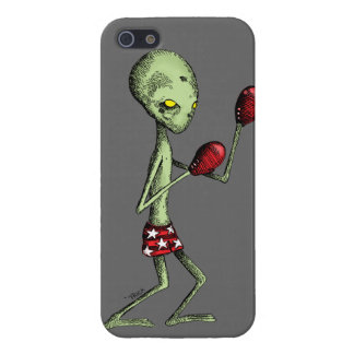 Boxing Alien iPhone SE/5/5s Cover