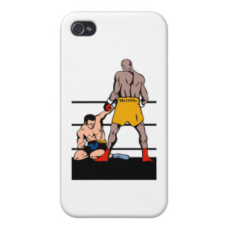 boxing boxer fighter fighting knockout punch covers for iPhone 4