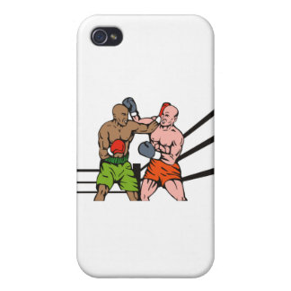 boxing boxer fighter fighting knockout punch case for iPhone 4