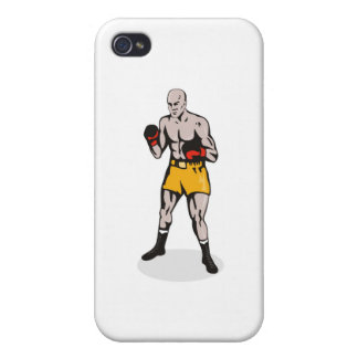 boxing boxer fighter fighting knockout punch iPhone 4 case