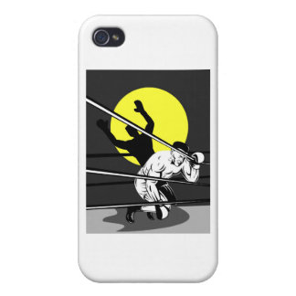 boxing boxer fighter fighting knockout punch iPhone 4/4S case