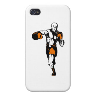 boxing boxer fighter fighting knockout punch iPhone 4/4S cover