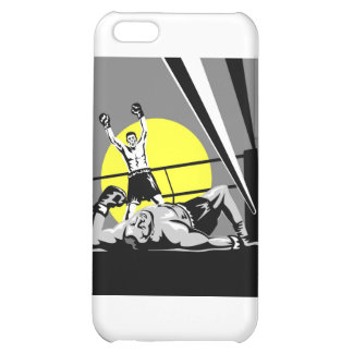 boxing boxer fighter fighting knockout punch case for iPhone 5C
