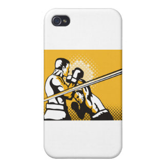 boxing boxer fighter fighting knockout punch cases for iPhone 4