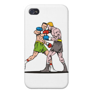 boxing boxer fighter fighting knockout punch iPhone 4/4S covers