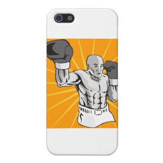 boxing boxer fighter fighting knockout punch iPhone 5 cases