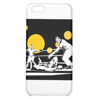 boxing boxer fighter fighting knockout punch iPhone 5C case