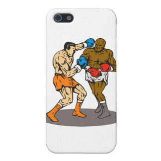 boxing boxer knockout punch iPhone 5 case