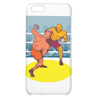 boxing boxer knockout punch iPhone 5C case