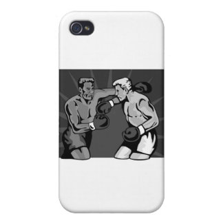 boxing boxer knockout punch iPhone 4 cover