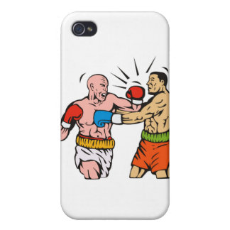 boxing boxer knockout punch cover for iPhone 4