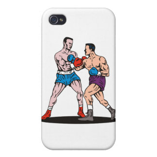 boxing boxer knockout punch iPhone 4/4S cases