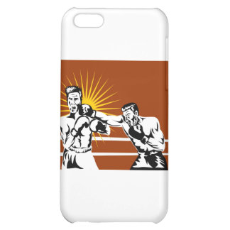 boxing boxer knockout punch iPhone 5C cases
