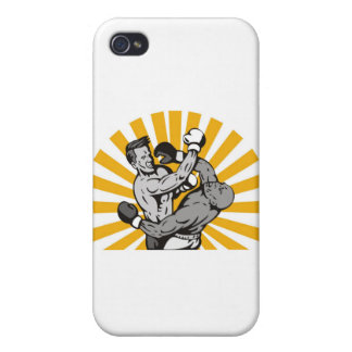 boxing boxer knockout punch iPhone 4 cases