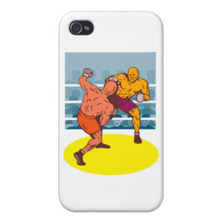 boxing boxer knockout punch iPhone 4/4S case