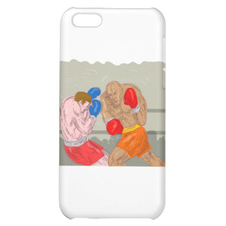 boxing boxer knockout punch case for iPhone 5C