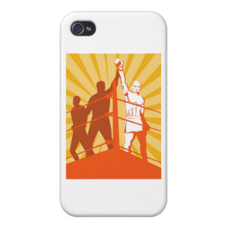boxing boxer victory winner covers for iPhone 4