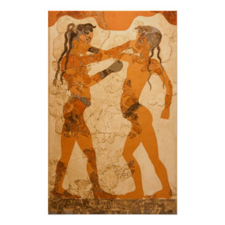 Boxing Boys Poster