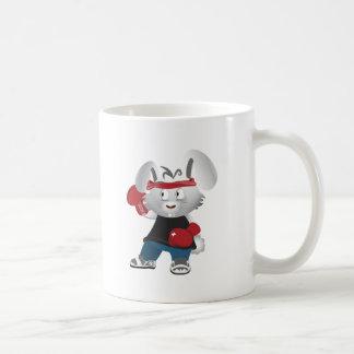 Boxing Bunny Coffee Mug