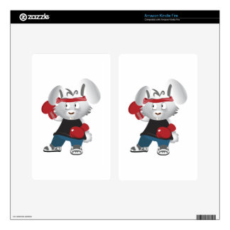 Boxing Bunny Kindle Fire Skins