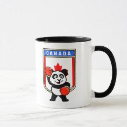 Combo Mug with Canada Boxing Panda design