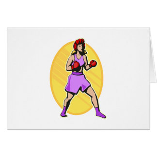 Boxing Greeting Cards