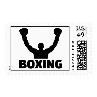 Boxing champion postage