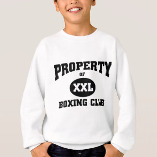 Boxing club sweatshirt
