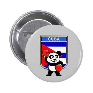 Boxing Cuba Panda Pin