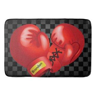 Boxing Design Bath Mat