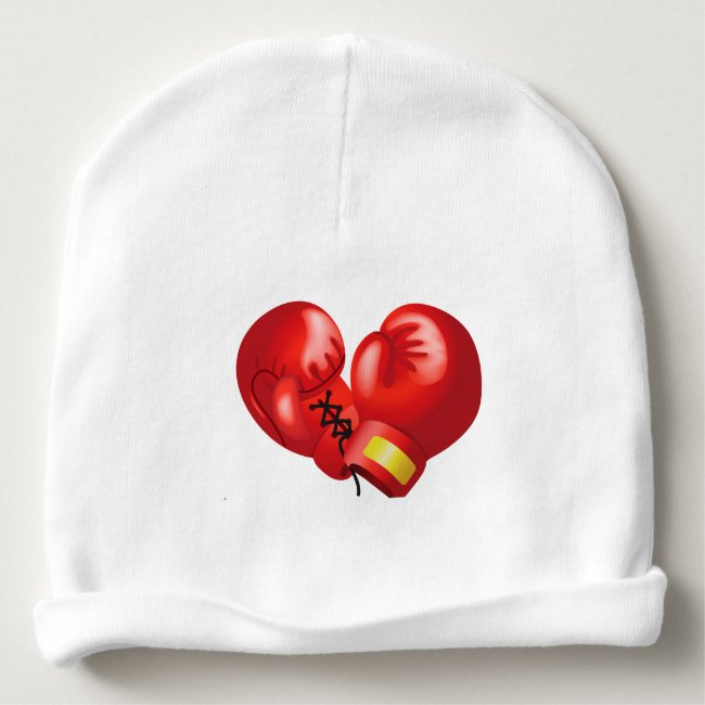 Boxing Design Infant Hat