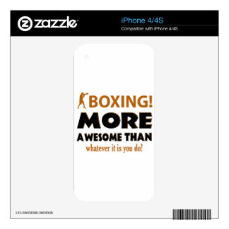 BOXING DESIGN iPhone 4 SKIN