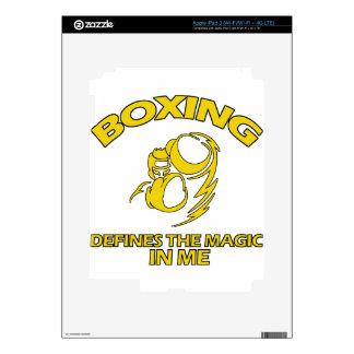 boxing DESIGNS iPad 3 Skin