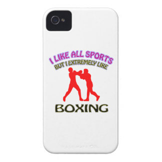Boxing designs iPhone 4 cover